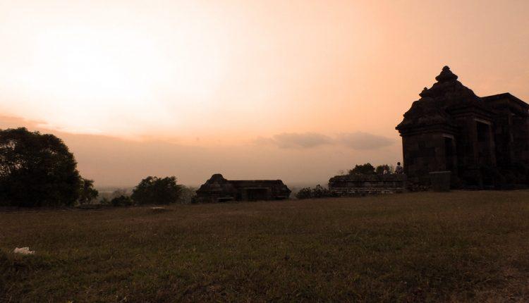 Candi Ratu Boko Sunset